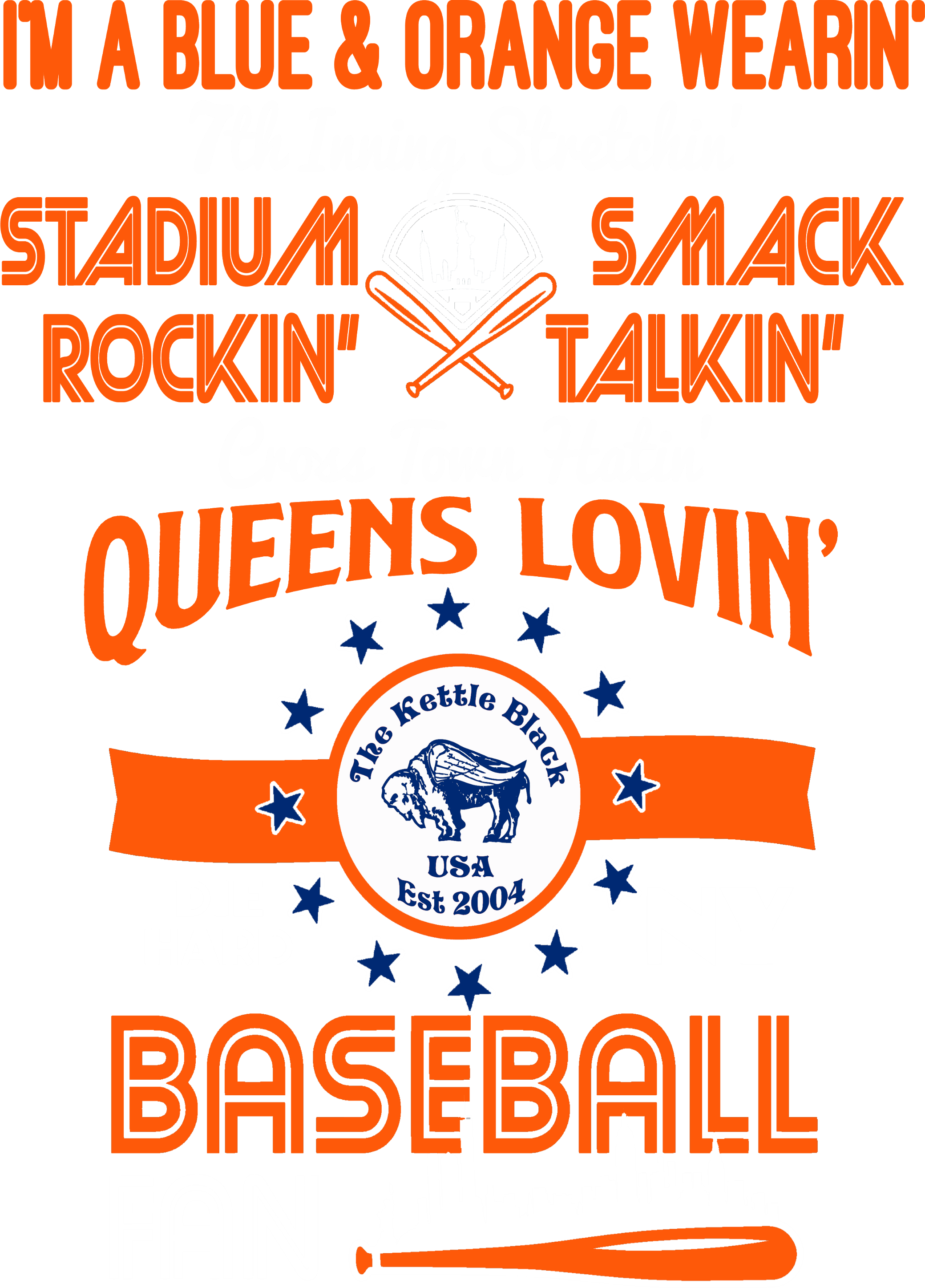 Queens Lovin Baseball Fan